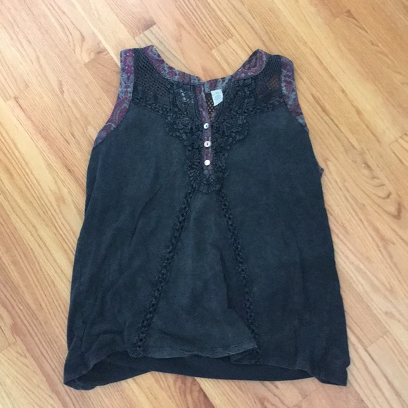 gimmicks by BKE Tops - Gimmicks tank top with ribbon trim